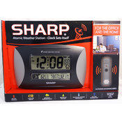Sharp Atomic Weather Station With Titanium Accent