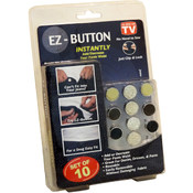 As Seen On TV No Sew EZ Button 10 Pack