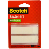 3M Scotch 6 Sets Of Multi-Purpose White Strips Fasteners