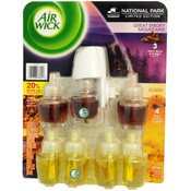 Air Wick 8 Piece Smoky Mountains & Acadia Scented Oil Value Pack
