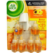 Air Wick 7 Piece Tropical Sunset Oil Value Pack