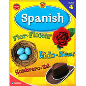 Brighter Child Grade 4 Spanish Learning Workbook