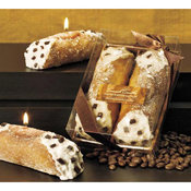 Pastry Scented Cannoli Candle 2 Piece Gift Set