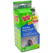 Scotch-Brite Stainless Steel Cleaner Starter Kit