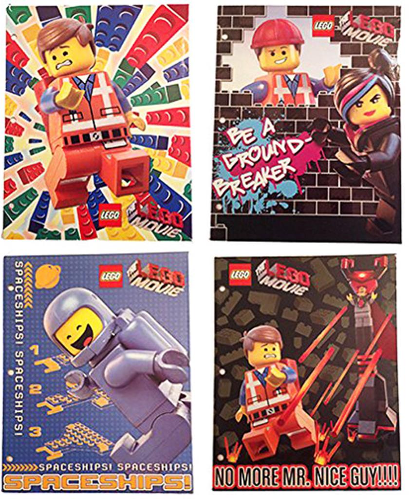 The LEGO Movie Portfolio Folders- Assorted Covers [1902784]