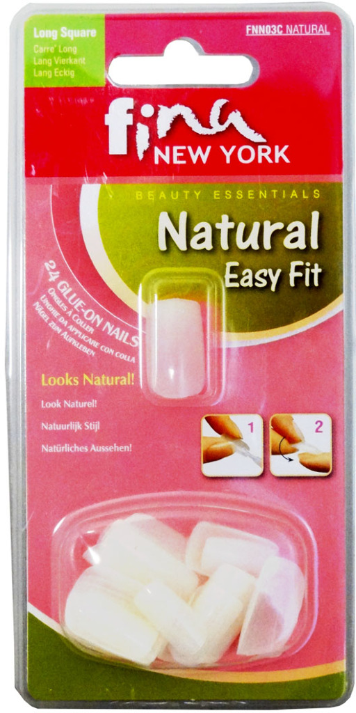Fina New York Natural Easy Fit 24 NAILS [1945377]