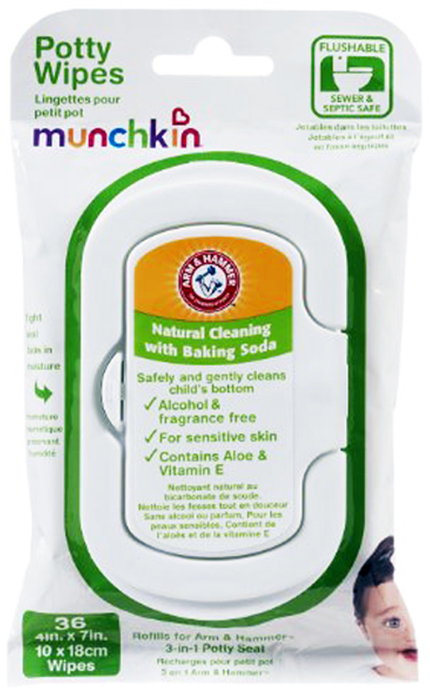 Arm & HAMMER Potty Wipes 36 Count [1909883]