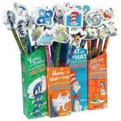 Dr. Seuss? Pencil with Giant Eraser Wholesale Bulk