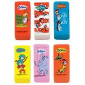 Dr. Seuss Beveled Eraser Wholesale Bulk