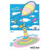 Dr. Seuss Oh The Places Memo Pad Wholesale Bulk
