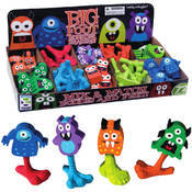 Geddes Big Foot Monster Erasers Wholesale Bulk