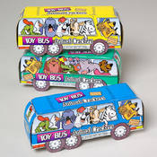 Toy Bus Animal Crackers 1.75 Ounces Wholesale Bulk