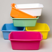 DISH PAN RECTANGULAR 6 COLORS