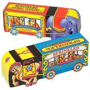 ANIMAL COOKIES CIRCUS WAGON