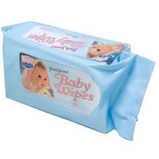BABY WIPES-80 SHEETS RECLOSEABLE