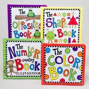 Board Books 4 Assorted Titles