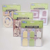 FRAMES AND TAGS FOR SCRAPBOOKING