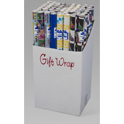GIFTWRAP EVERYDAY ASST 40 SQ FT Wholesale Bulk