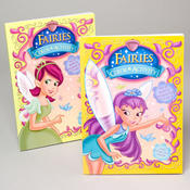 COLORING BOOK FAIRIES 96 PAGES