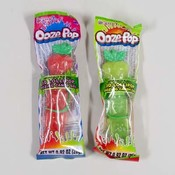 FRUIT OOZE POP 2 ASST CANDY GEL