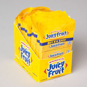 GUM JUICY FRUIT 4 PACKS