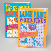 WORD FIND BOOK LARGE PRINT 112 Pages