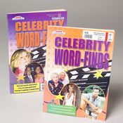 Celebrity Word Find Book
