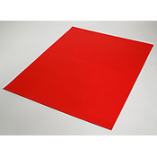 POSTER BOARD RED 22 X 28