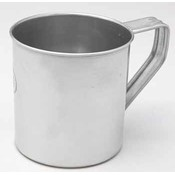 STAINLESS STEEL MUG W/HNDL 20 OZ