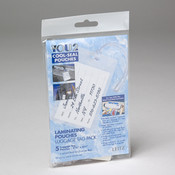 LUGGAGE TAG LAMINATE POUCH 5PK
