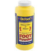 POWDER FOOT 6OZ MOISTURE ABSORB