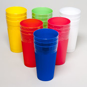 TUMBLERS 22 OZ 3CT 6 COLORS