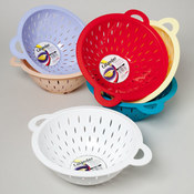 COLANDER W/2 HANDLES 6 COLORS