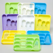CUTLERY TRAY 5 SECTION 6 COLORS