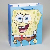 Extra Large Spongebob Gift Bag Wholesale Bulk