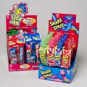SNAKE SPRAY AND 7PC SWEET SOU 96