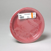 Paper Plates - Burgundy 8 Count 7' Wholesale Bulk