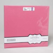 Pink Fabric Scrapbook Album 12x12
