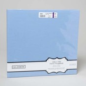 Light Blue Fabric Scrapbook Album