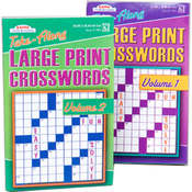 CROSSWORD PUZZLE LG PRINT TRAVEL