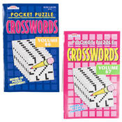 Pocket Puzzles Word-Finds and Crosswords