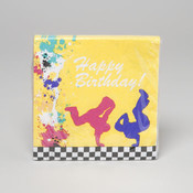 LUNCHEON NAPKINS 18 CT 80&#39;S