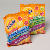 Sunkist 5 Oz. Bag Fruit Gummies Candy