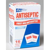 ANITSEPTIC WIPES 16CT BOX