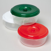 Christmas Colored Round Food Storage Container