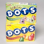 Dots/Dots Sour Candy Display