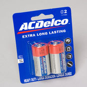 AC Delco C 2 Pack Batteries Wholesale Bulk