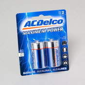 BATTERIES AC DELCO C 2PK Wholesale Bulk
