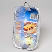 ALUMINUM LOAF PAN MINI 5 PACK