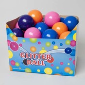 4 Inch Glitter Bouncing Ball